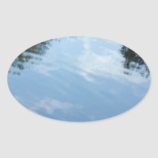 Reflections Oval Sticker