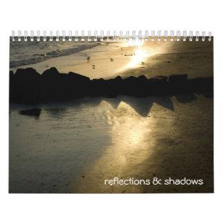 reflections & shadows calendar