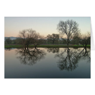 Reflections - Sonoma, CA Greeting Card