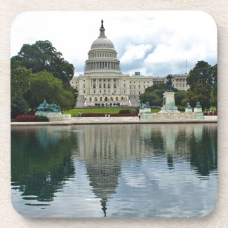 Reflections- US Capitol Beverage Coasters