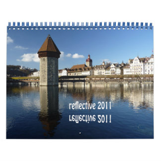 reflective 2011 calendar