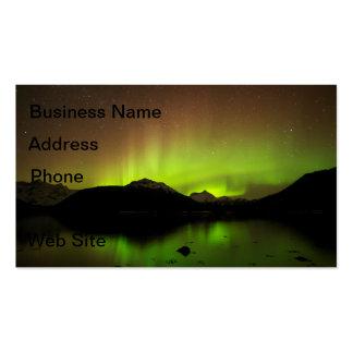 Reflective Aurora Business Card Template