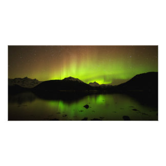 Reflective Aurora Card