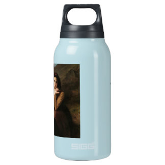 Reflective Beauty (Mignon Pensive) 1869 Bouguereau Insulated Water Bottle
