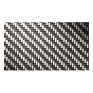 Reflective Carbon Fiber Textured Business Cards