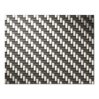 Reflective Carbon Fiber Textured Card