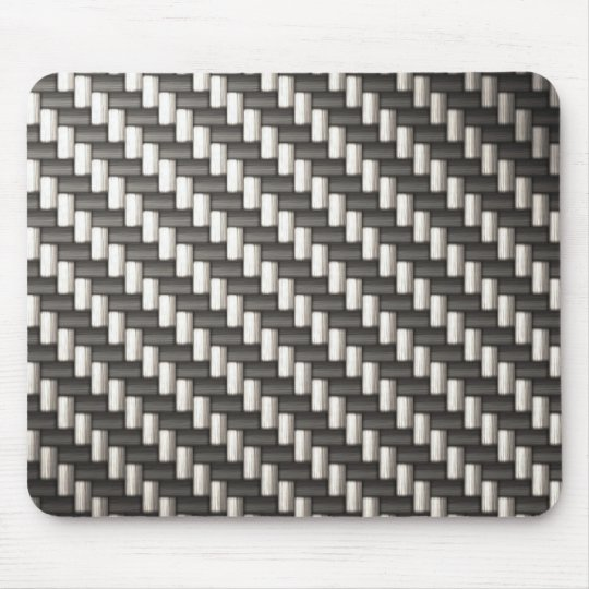 Reflective Carbon Fiber Textured Mouse Pad