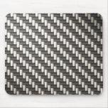 Reflective Carbon Fiber Textured Mousepads