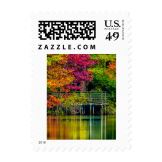 Reflective Colors Postage Stamps