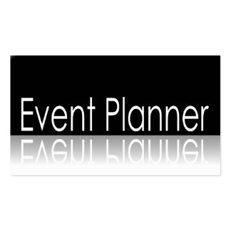 Reflective - Event Planner - Business Card