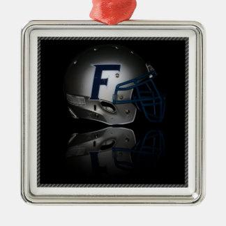 Reflective Helmet Metal Ornament