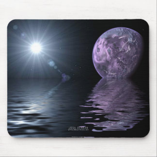 Reflective Horizon Mouse Pad