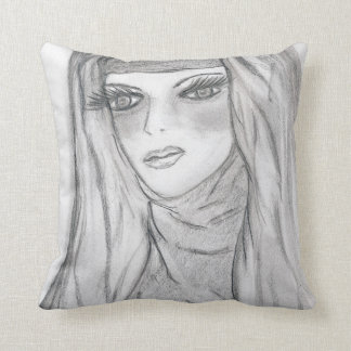 Reflective Mary Throw Pillow
