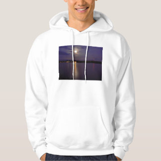 Reflective River Hooded Pullover