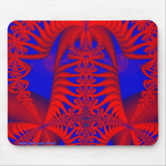 Reflective Skeletal Infractions Mouse Pad
