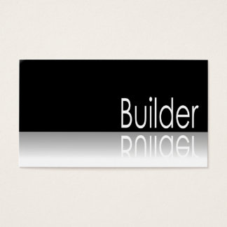 Reflective Text - Builder - Business Card