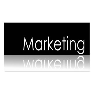 Reflective Text - Marketing - Business Card
