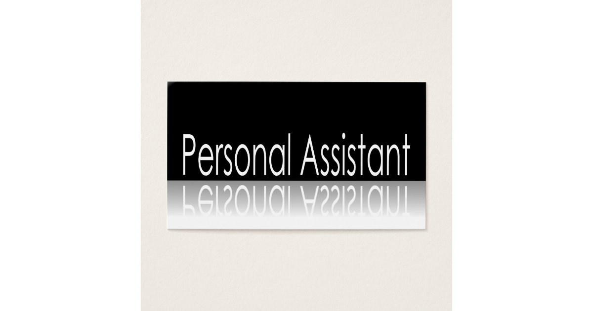 Executive Assistant Business Cards & Templates | Zazzle