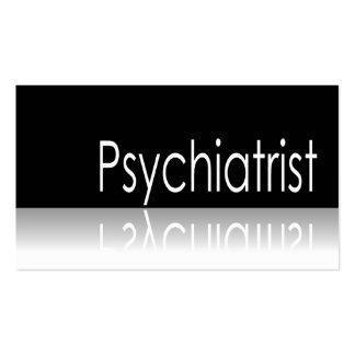 Reflective Text - Psychiatrist - Business Card