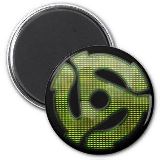 reflector de 45 RPM Imán Redondo 5 Cm
