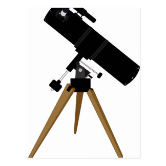 Reflector Telescope Postcard