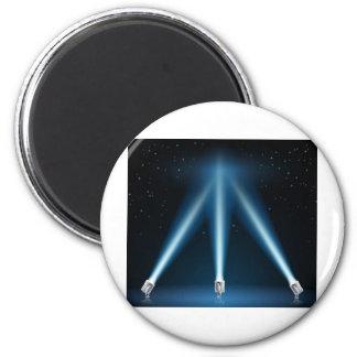 Reflectores o ejemplo de los proyectores imanes de nevera