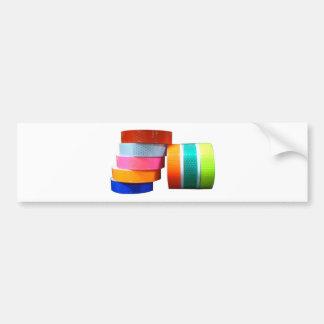 Reflectores reflexivos de la cinta del pegatina de etiqueta de parachoque