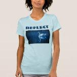 Refleje la camisa para mujer