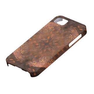 Reflejo de cobre de oro iPhone 5 Case-Mate protectores