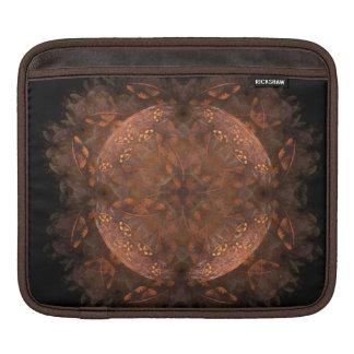 Reflejo de cobre de oro fundas para iPads