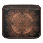 Reflejo de cobre de oro manga de iPad