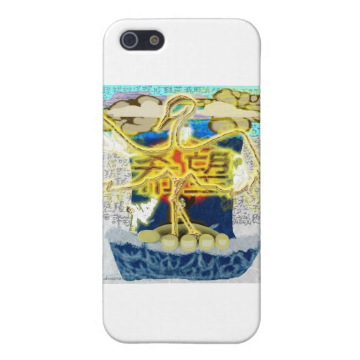 Reflejo: La milésima grúa iPhone 5 Carcasa