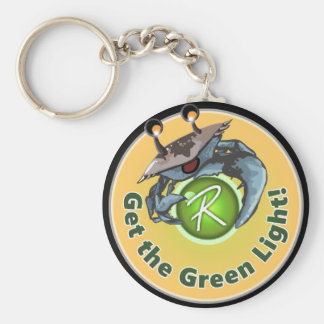"Reflex ""Get the Green Light"" keychain"