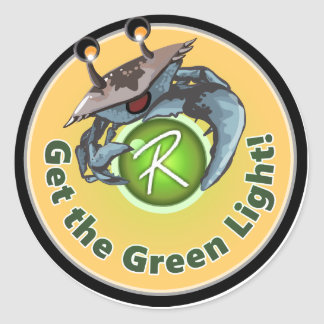 """Reflex """"Get the Green Light"""" stickers"""