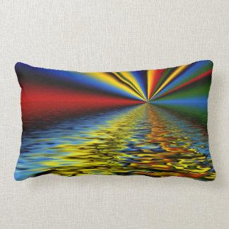 Reflexión brillante almohadas