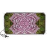 Reflexión color de rosa violeta altavoces de viajar