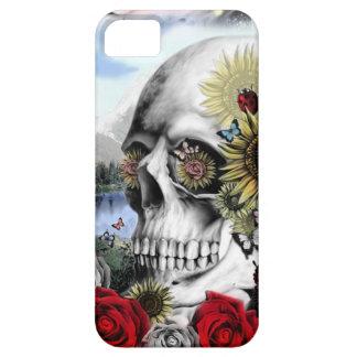 Reflexión, cráneo del paisaje iPhone 5 Case-Mate coberturas