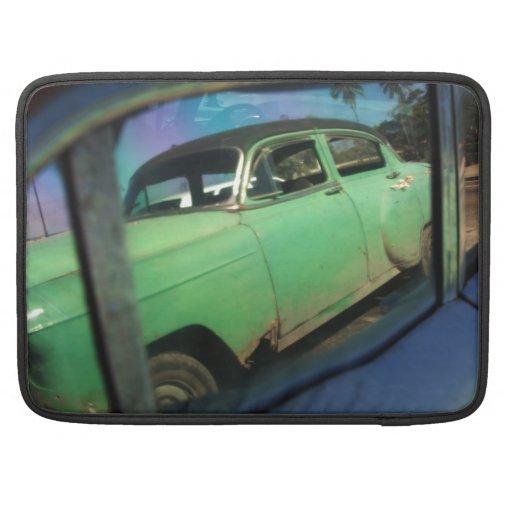 Reflexión cubana del coche funda para macbook pro