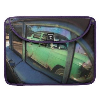 Reflexión cubana del coche fundas para macbooks