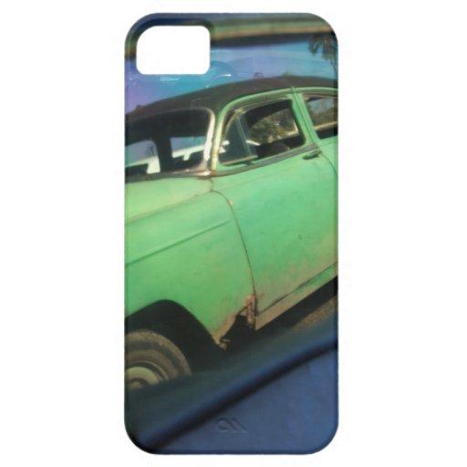 Reflexión cubana del coche iPhone 5 carcasas