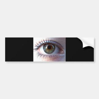 Reflexión de Brown Etiqueta De Parachoque