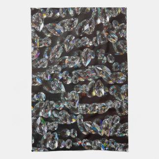Reflexión de cristal de los cristales toallas de cocina