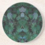 Reflexión de hojas posavasos personalizados