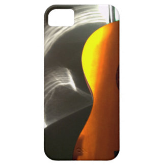 Reflexión de la guitarra iPhone 5 carcasa