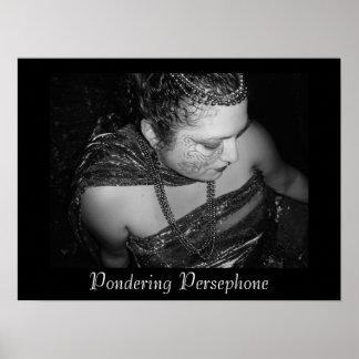 Reflexión de la impresión del poster de Persephone