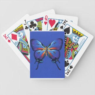 Reflexión de la mariposa barajas