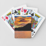 Reflexión de la montaña rocosa cartas de juego