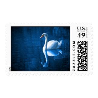 Reflexión de la SWA Sello Postal