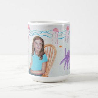 Reflexión de las jaleas taza