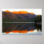 Reflexión de Maria del lago Posters
